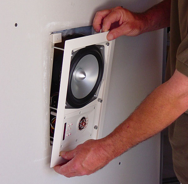 install in wall stereo speakers
